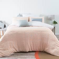 floyd peach quilt cover set pillow talk