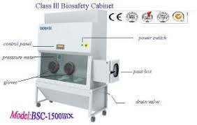 Bio Safety Cabinet China Class Iii Biosafety Cabinet Bsc 1500iiix China