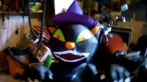 some 5ft halloween inflatables from home depot youtube