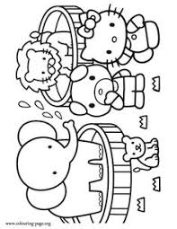 kitty coloring pages crafts kitty color