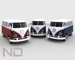 volkswagen bus 2014 t1 deluxe 3ds