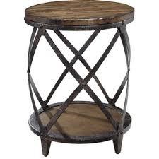 Metal Drum Accent Table End U0026 Side Tables Joss U0026 Main