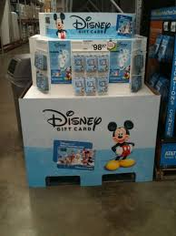 disney gift card offer at sams club