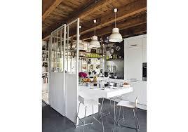 cloison vitree cuisine des cloisons mobiles et faciles pour la cuisine décoration