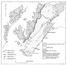 summary of the geology northern highlands of scotland earthwise