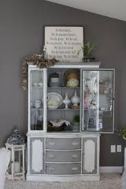 Decorating A Hutch Fall Decorating In The Living Room Simple Cozy Charm