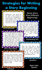 strategies for writing successful research papers teaching students to write a narrative the hook activities and strategies for writing a story beginning free lesson activities for teaching students to write a