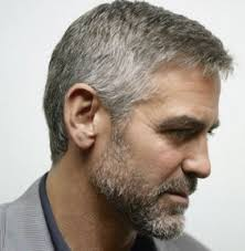 pictures of 1985 hairstyles george clooney s hairstyle simple and classy