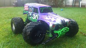grave digger monster truck 30th anniversary traxxas grave digger a break in the garden youtube