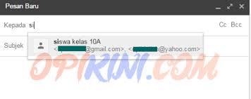 membuat grup kontak di yahoo mail cara membuat grup kontak di gmail dan fungsinya opikini com