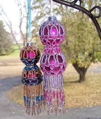271 best beaded ornaments images on beaded