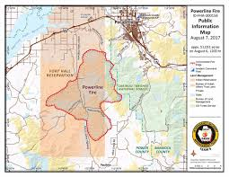 Fire Map Oregon by Update Powerline Fire At 51 000 Acres Local News Kpvi Com