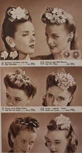 1940s hair accessories 1940s vintage hair accessories 4 authentic styles 1940s hair