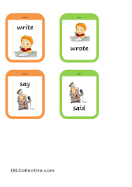 past tense memory game pz pinterest gaming worksheets and