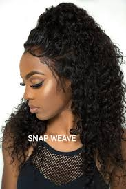 snap hair no thread no glue snapweave