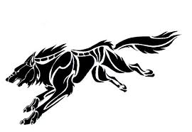 18 awesome tribal wolf tattoo only tribal
