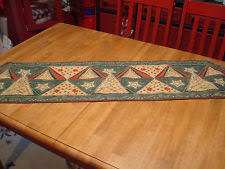 how to make a table runner with pointed ends unbranded christmas holiday pointed table runners ebay