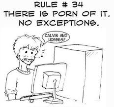 Know Your Meme Rules Of The Internet - main rule 34 television tropes idioms rule 34 pinterest