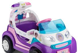 Doc Mcstuffins Home Decor Kid Trax Doc Mcstuffins 6v Ambulance U0026 Reviews Wayfair