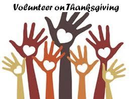 thanksgiving volunteer opportunities inspiring