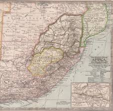 Map Of Southern Africa by Overview For Map Master