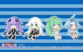 wallpaper choujigen game neptune compile heart tsunako choujigen game neptune black heart green heart