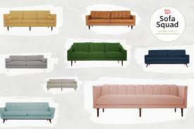 apartment therapy best sofas sofa squad review the most comfortable joybird sofas comfortable