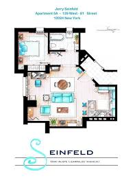 tv show apartment floor plans 13 incredibly detailed floor plans of the most famous tv show homes