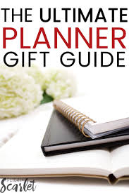 the ultimate planner gift guide the perfect gift ideas for