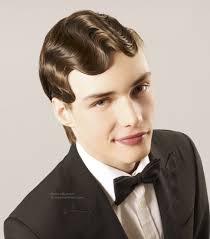 vintage men u0027s haircut with finger waves