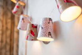 Paper Christmas Lights Diy Christmas Paper Cup Fairy Lights Fairy Lights U0026 Fun