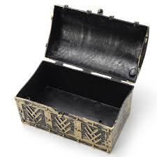 necklace gift box images Vintage pirate jewelry storage box holder treasure chest gift box jpg