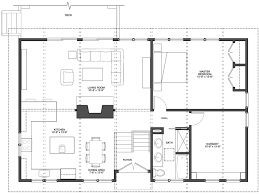 Kitchen Dining Family Room Floor Plans | bennett frank mccarthy architects interesting split level split
