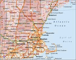 map us northeast map of ne usa and canada major tourist attractions maps