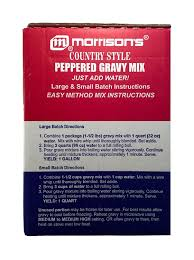 amazon com morrisons peppered country style gravy mix 2 large