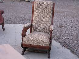 Early American Rocking Chair Antique Upholstered Rocking Chair Inspirations Home U0026 Interior