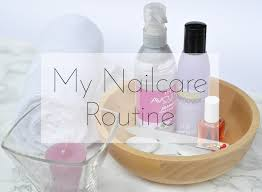 my nail care routine beauty and blush