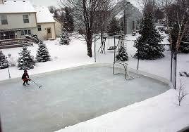 Best Backyard Hockey Rinks Custom Ice Rinks Residential Portable