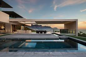 South African House Building Plans Views Of Mountains And The Sea For A South African Home