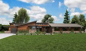 plan w69510am stunning contemporary ranch home plan e ranch