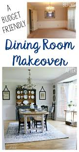 Cozy Dining Room A Budget Friendly Dining Room Makeover Noting Grace
