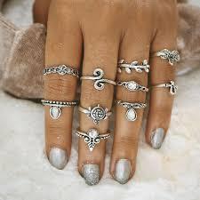 aliexpress buy new arrival 10pcs wholesale fashion aliexpress buy 2018 new 10pcs sets ring bohemian jewelry