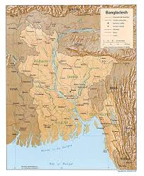 Thematic Map Definition Maps Of Bangladesh