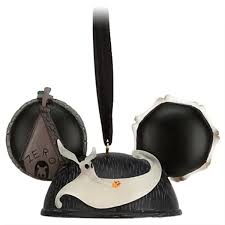 amazon com jack skellington and zero ear hat disney ornament