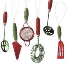 kitchen mini utensil ornaments theedlos