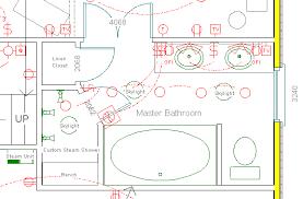 His And Her Bathroom Floor Plans Larchmont Master Bathroom Suite Floor Plan