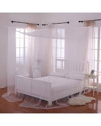 4 Post Bed Frame Shopping Sales On Heavenly 4 Post Bed Canopy White