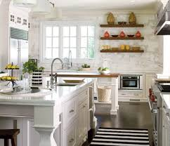 Floating Shelves Kitchen by 65 Ideas Of Using Open Kitchen Wall Shelves Shelterness
