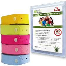 amazon com mosquito repellent bracelet by simple natural