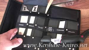 kershaw deluxe blade trader knife 1099dbtx demo youtube
